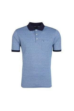 Sabri Özel - Sabri Özel Erkek T Shirt 0181817401 MAVİ