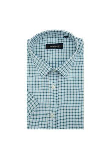 Sabri Özel Kısa Kollu Erkek Gömlek 3902005 BEYAZ