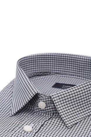 Sabri Özel Kısa Kollu Erkek Gömlek 3902016 SİYAH