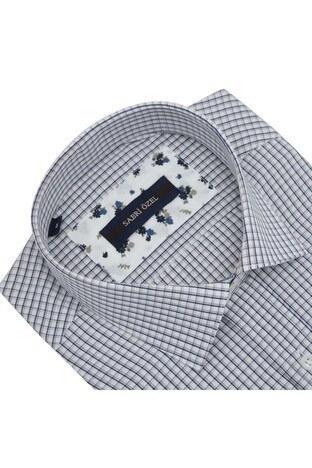 Sabri Özel Kısa Kollu Erkek Gömlek 4183709 BEJ