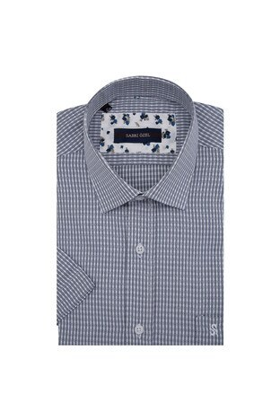 Sabri Özel Kısa Kollu Erkek Gömlek 4183729 SİYAH