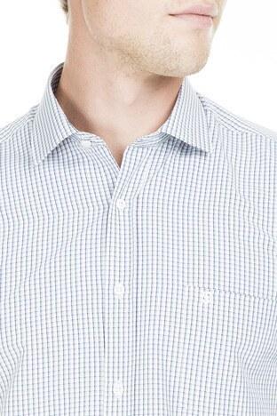 Sabri Özel Kısa Kollu Erkek Gömlek 4183734 GRİ