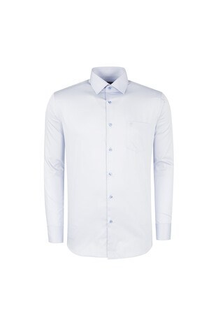 Sabri Özel Klasik Erkek Uzun Kollu Gömlek 3029 AÇIK MAVİ