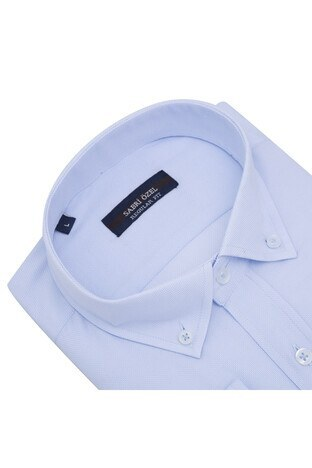 SABRİ ÖZEL /MAVİ/M Erkek Gömlek 4183520
