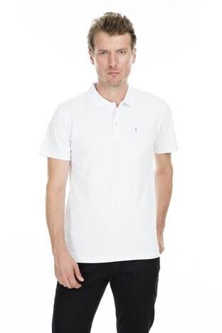 Sabri Özel - Sabri Özel Polo Erkek T Shirt S00000007103 BEYAZ