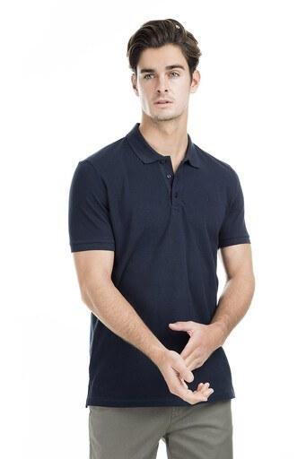 Sabri Özel Polo Erkek T Shirt T446688 LACİVERT
