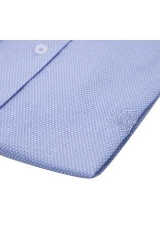 Sabri Özel Uzun Kollu Slim Fit Gömlek Erkek Uzun Kollu Gömlek 5431702 MAVİ