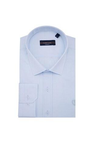 Sabri Özel - Sabri Özel Uzun Kollu Slim Fit Gömlek Erkek Uzun Kollu Gömlek 5431711 AÇIK MAVİ