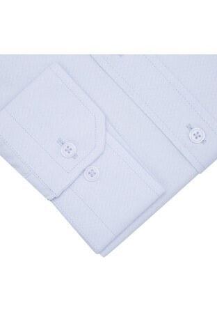 Sabri Özel Uzun Kollu Slim Fit Gömlek Erkek Uzun Kollu Gömlek 5431711 AÇIK MAVİ