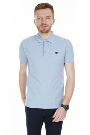 Sabri Özel - Sabri Özel T Shirt Erkek Polo 230009106 AÇIK MAVİ