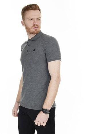 Sabri Özel T Shirt Erkek Polo 230009106 KOYU GRİ