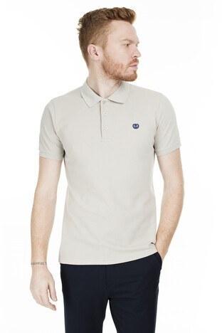 Sabri Özel - Sabri Özel T Shirt Erkek Polo 230009106 TAŞ