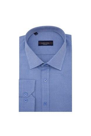 Sabri Özel - Sabri Özel Uzun Kollu Slim Fit Gömlek Erkek Uzun Kollu Gömlek 5431624 LACİVERT