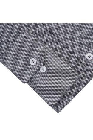 Sabri Özel Uzun Kollu Slim Fit Gömlek Erkek Uzun Kollu Gömlek 5431626 SİYAH