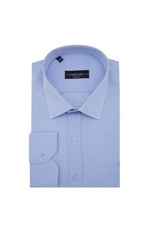 Sabri Özel - Sabri Özel Uzun Kollu Slim Fit Gömlek Erkek Uzun Kollu Gömlek 5431632 AÇIK MAVİ