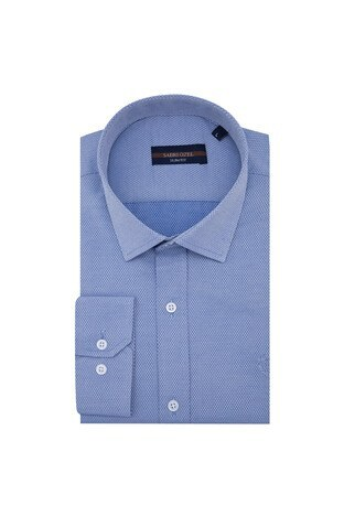 Sabri Özel - Sabri Özel Uzun Kollu Slim Fit Gömlek Erkek Uzun Kollu Gömlek 5431633 İNDİGO