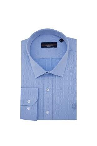Sabri Özel - Sabri Özel Uzun Kollu Slim Fit Gömlek Erkek Uzun Kollu Gömlek 5431633 MAVİ