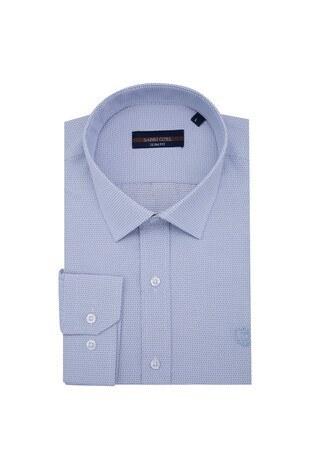 Sabri Özel - Sabri Özel Uzun Kollu Slim Fit Gömlek Erkek Uzun Kollu Gömlek 5431635 KAHVE
