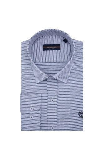 Sabri Özel Uzun Kollu Slim Fit Gömlek Erkek Uzun Kollu Gömlek 5431635B LACİVERT