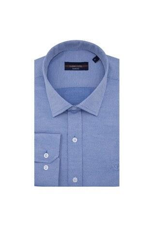 Sabri Özel - Sabri Özel Uzun Kollu Slim Fit Gömlek Erkek Uzun Kollu Gömlek 5431637 MAVİ