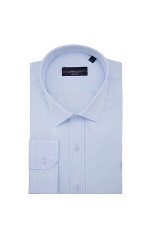 Sabri Özel - Sabri Özel Uzun Kollu Slim Fit Gömlek Erkek Uzun Kollu Gömlek 5431642 MAVİ