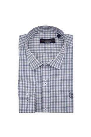 Sabri Özel - Sabri Özel Uzun Kollu Slim Fit Gömlek Erkek Uzun Kollu Gömlek 5431643 GRİ