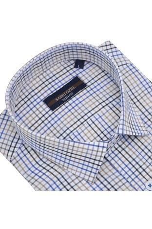 Sabri Özel Uzun Kollu Slim Fit Gömlek Erkek Uzun Kollu Gömlek 5431644 KAHVE