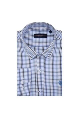 Sabri Özel - Sabri Özel Uzun Kollu Slim Fit Gömlek Erkek Uzun Kollu Gömlek 5431644 MAVİ