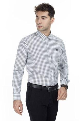 Sabri Özel - Sabri Özel Uzun Kollu Slim Fit Gömlek Erkek Uzun Kollu Gömlek 5431646 SİYAH