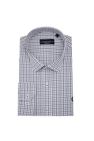 Sabri Özel - Sabri Özel Uzun Kollu Slim Fit Gömlek Erkek Uzun Kollu Gömlek 5431648 GRİ