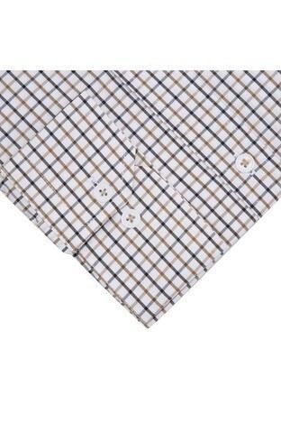 Sabri Özel Uzun Kollu Slim Fit Gömlek Erkek Uzun Kollu Gömlek 5431648 KAHVE