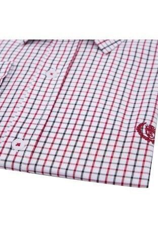 Sabri Özel Uzun Kollu Slim Fit Gömlek Erkek Uzun Kollu Gömlek 5431648 KIRMIZI