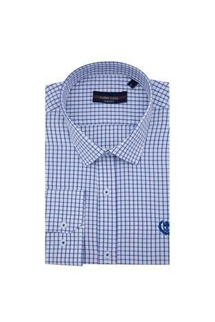 Sabri Özel - Sabri Özel Uzun Kollu Slim Fit Gömlek Erkek Uzun Kollu Gömlek 5431648 MAVİ