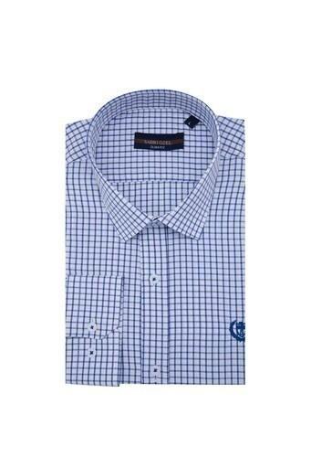 Sabri Özel Uzun Kollu Slim Fit Gömlek Erkek Uzun Kollu Gömlek 5431648 MAVİ