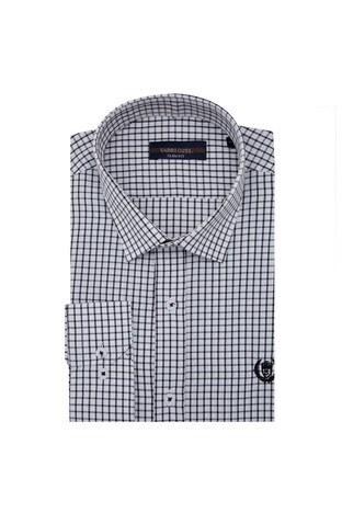 Sabri Özel - Sabri Özel Uzun Kollu Slim Fit Gömlek Erkek Uzun Kollu Gömlek 5431648 SİYAH
