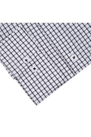 Sabri Özel Uzun Kollu Slim Fit Gömlek Erkek Uzun Kollu Gömlek 5431648 SİYAH