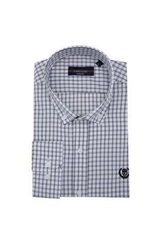 Sabri Özel - Sabri Özel Uzun Kollu Slim Fit Gömlek Erkek Uzun Kollu Gömlek 5431649 SİYAH