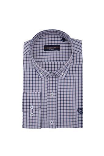 Sabri Özel Uzun Kollu Slim Fit Gömlek Erkek Uzun Kollu Gömlek 5431650 LACİVERT