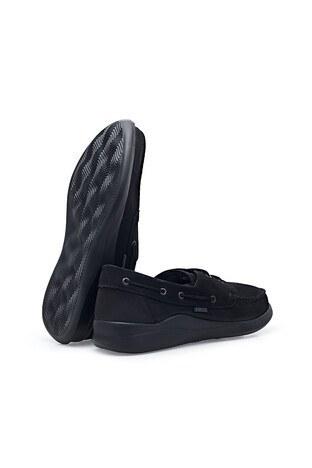 Scooter Büyük Numara Nubuk Deri Günlük Erkek Ayakkabı X1090N SİYAH