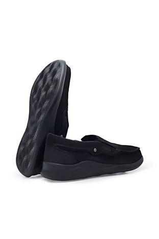 Scooter Büyük Numara Nubuk Deri Günlük Erkek Ayakkabı X1091N SİYAH