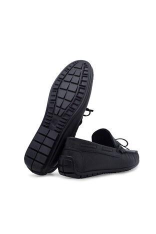 Scooter Hakiki Deri Erkek Ayakkabı 516M1300D SİYAH