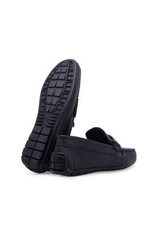Scooter Hakiki Deri Erkek Ayakkabı 516M1301D SİYAH