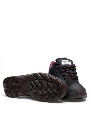 SCOOTER SU GEÇİRMEZ Erkek Ayakkabı M5224T SİYAH-BORDO