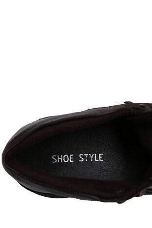 SHOE STYLE Erkek Ayakkabı 4631967 KAHVE