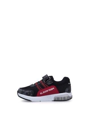 Slazenger Efect P Spor Çocuk Ayakkabı SA10LP039 SİYAH