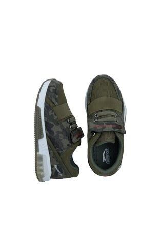 Slazenger Çocuk Ayakkabı SA10LP070 HAKİ-KAMUFLAJ