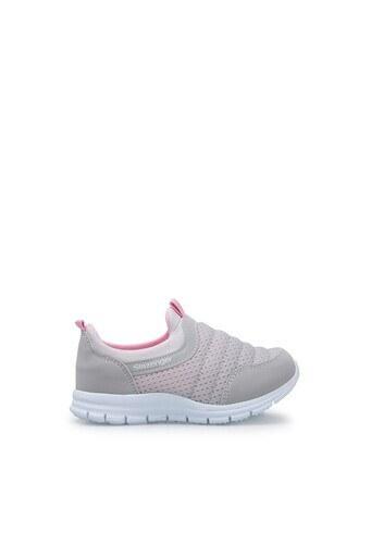 Slazenger Çocuk Ayakkabı SA10LP013 GRİ-PEMBE