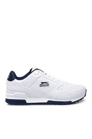 Slazenger - Slazenger Günlük Spor Erkek Ayakkabı MARTIN E BEYAZ-LACİVERT