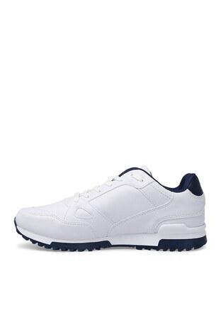 Slazenger - Slazenger Günlük Spor Erkek Ayakkabı MARTIN E BEYAZ-LACİVERT (1)