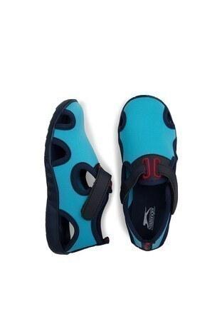 Slazenger Unni Spor Çocuk Ayakkabı SA10LP026 TURKUAZ